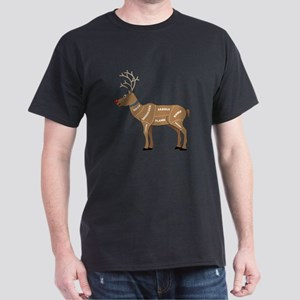 Rudolph - Reindeer Meat for Christmas Dark T-Shirt